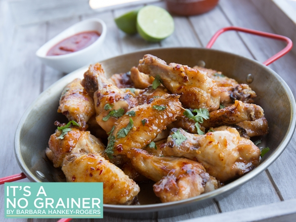 Spicy Lime Chicken Wings