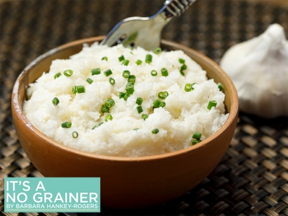 Cauliflower Garlic Mash