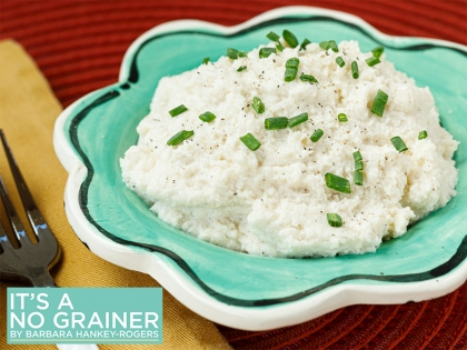 Easy Creamy Cauliflower Mash