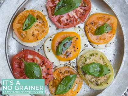 Caprese Salad with Tomato & Basil