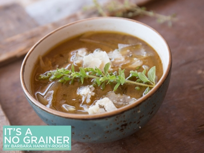 Sweet Caramelized Onion Soup