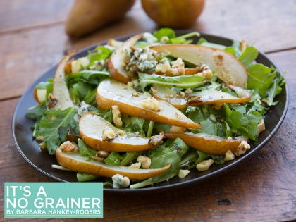 Arugula & Roasted Pear Salad