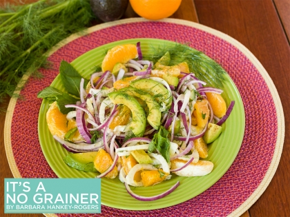 Avocado, Fennel, and Orange Salad